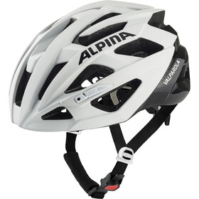 Alpina Valparola Fietshelm, white-black